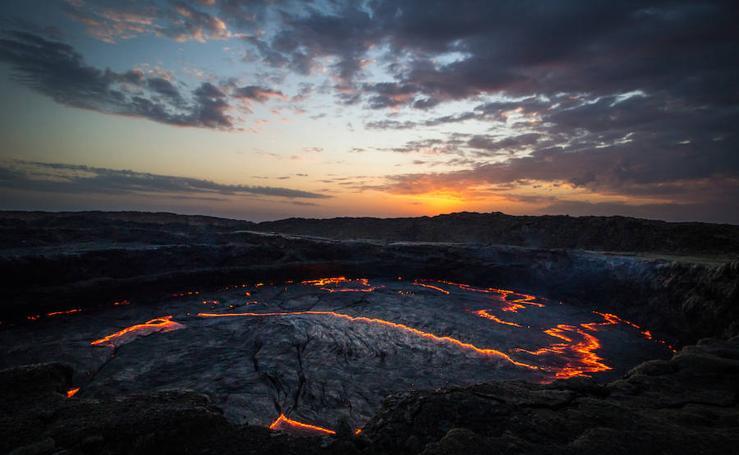15 lugares naturales que parecen el infierno sobre la Tierra