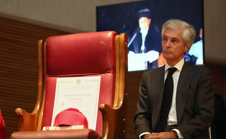 Adolfo Suàrez, doctor honoris causa a título póstumo por la Universidad Católica de Valencia