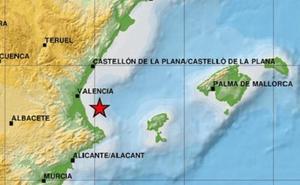 Un terremoto de magnitud 2,5 en el Golfo de Valencia