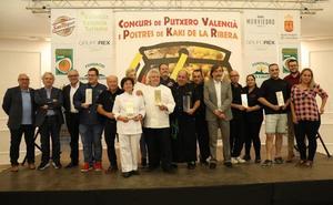 Casa Granero cocina el mejor puchero y Picanterra el mejor postre con caqui en l'Alcúdia