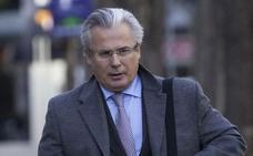Camps pide la declaración del exjuez Garzón en la causa del circuito de la F-1