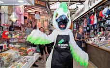 El Mercado Central de Valencia presenta a su mascota 'Cotorra'