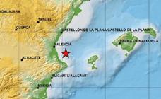 Valencia tiembla con un terremoto de magnitud 3,8