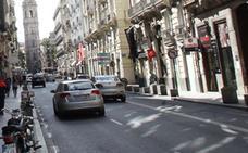 Dos ladrones intentan atropellar con una moto robada a un policía en Valencia