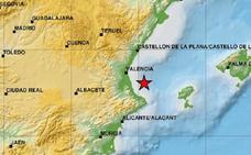 La Comunitat registra cuatro terremotos en 48 horas, el último de magnitud 3,8
