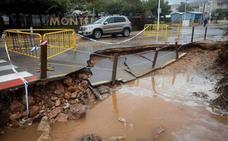 La Gota fría deja un récord de lluvia en la Comunitat: 159,2 litros en una hora