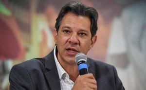 Haddad denuncia un complot de Bolsonaro para desacreditarle