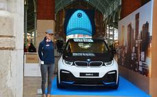 Bertolín expone en el centro el BMW i3s