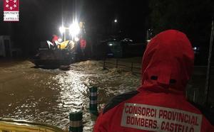 Las tormentas que provocan inundaciones y avalanchas en Castellón vuelven mañana a Valencia