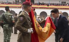 Más de 1.350 civiles juran bandera en Valencia