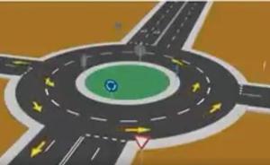 El gráfico definitivo para saber cómo circular por las rotondas