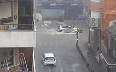Gota fría: Una tromba de agua inunda municipios de la Safor y la Ribera Baixa