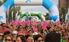 Carrera solidaria contra el cáncer en Valencia