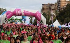Más de 10.000 personas salen a las calles de Valencia a moverse contra el cáncer