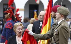 Una jura de bandera de récord en Valencia