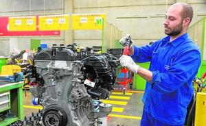 Ford Almussafes cierra trece días la planta de motores y nueve la cadena de montaje