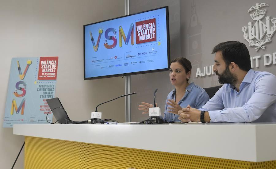 La plaza del Ayuntamiento de Valencia acogerá el Valencia Startup Market
