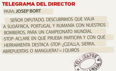 Telegrama para Josep Bort