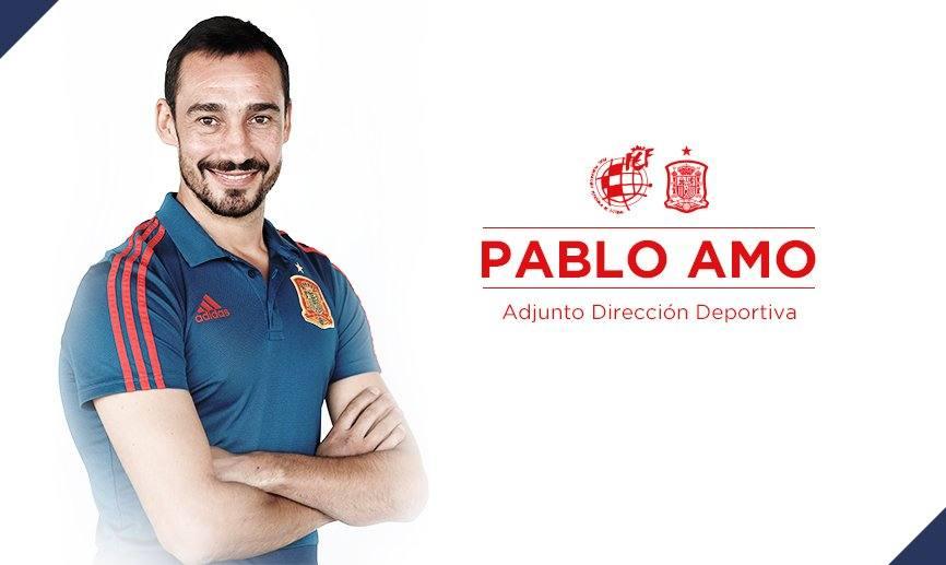 Pablo Amo, nuevo adjunto a la dirección deportiva