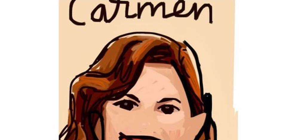 Homenaje ilustrado a Carmen Alborch