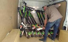 La empresa se lleva los patinetes decomisados tras pagar 5.000 euros