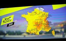 El recorrido del Tour de Francia 2019: 30 puertos de montaña y cinco llegadas en alto