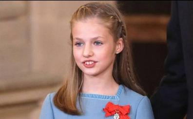 La Princesa de Asturias intervendrá por primera vez en un acto leyendo la Constitución