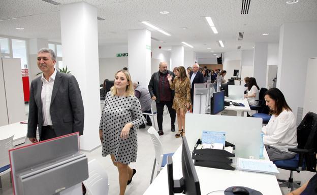 El Servef Abre En Dénia Su Nuevo Modelo De Oficina Espai