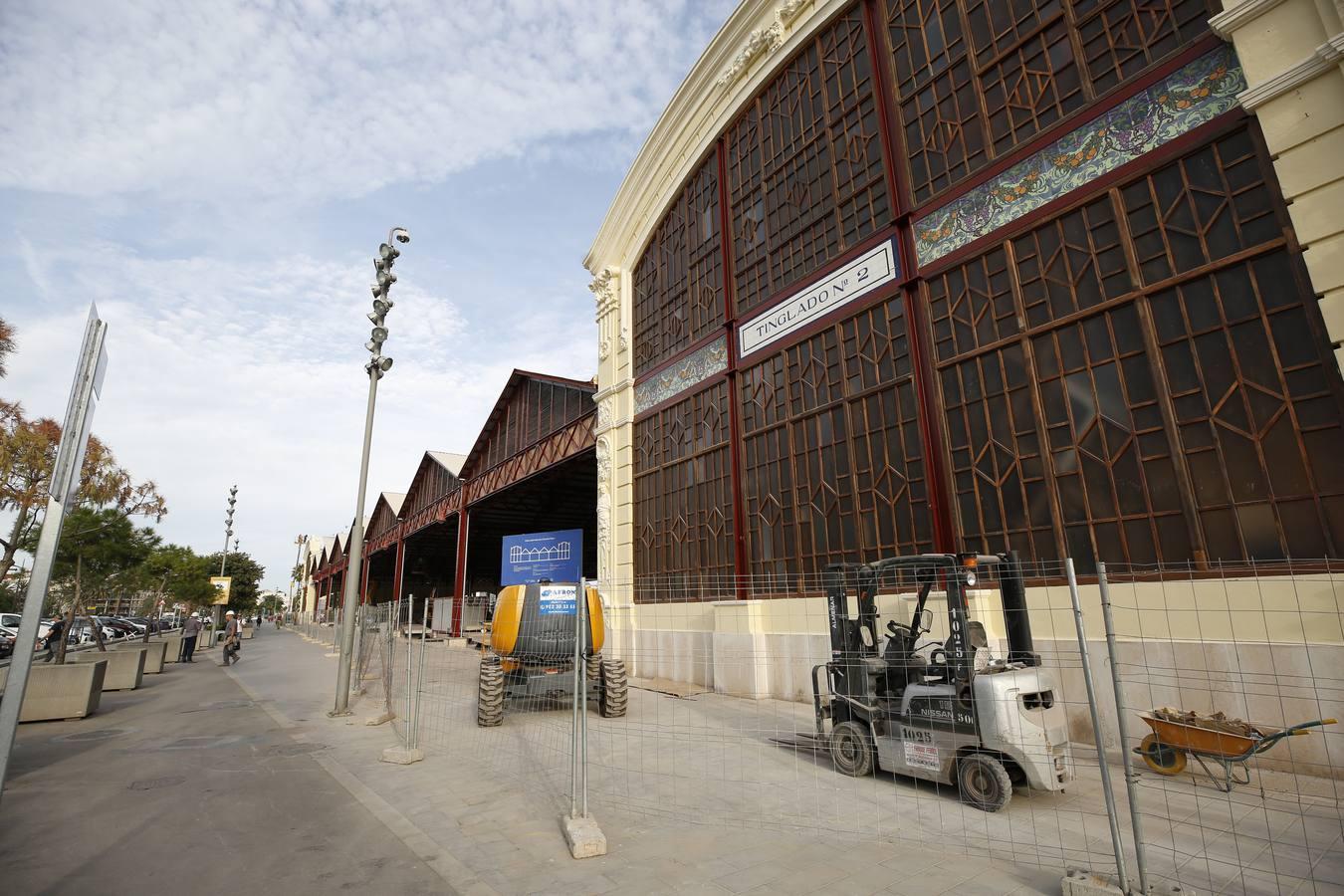 Rehabilitación del Tinglado 2 del puerto de Valencia, en la Marina