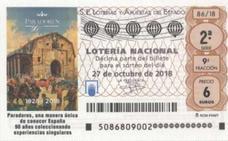 El primer premio de la Lotería Nacional del sábado, vendido en Náquera