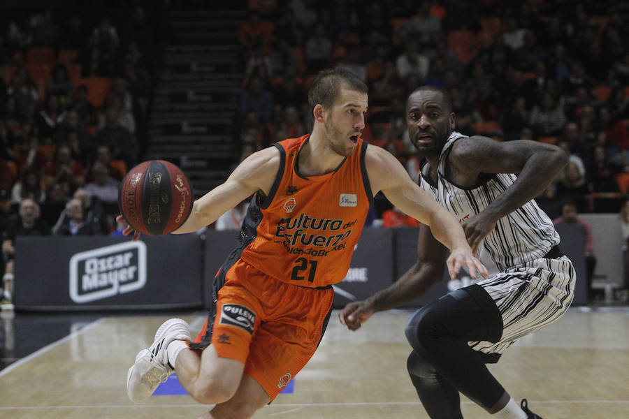Valencia Basket - Montakit Fuenlabrada, sexta jornada de la Liga Endesa