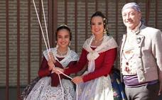 Las Fallas del Marítimo rinden su Homenaje a la Real Senyera en las Atarazanas de Valencia