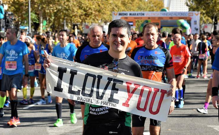 Las imágenes más curiosas de la Media Maratón