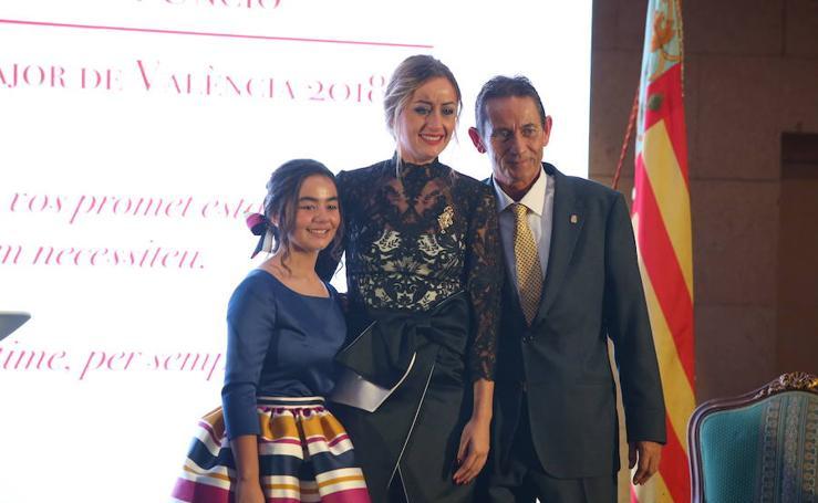 Fotos del homenaje a Rocío Gil, fallera mayor de Valencia 2018