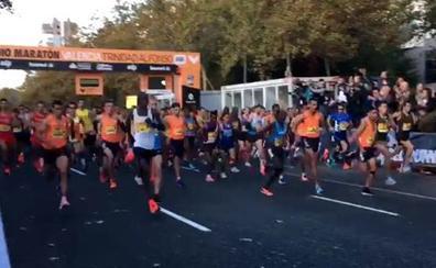 Vídeo de la salida del Medio Maratón de Valencia 2018