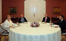 Ankara, Moscú, París y Berlín debaten una solución para Siria