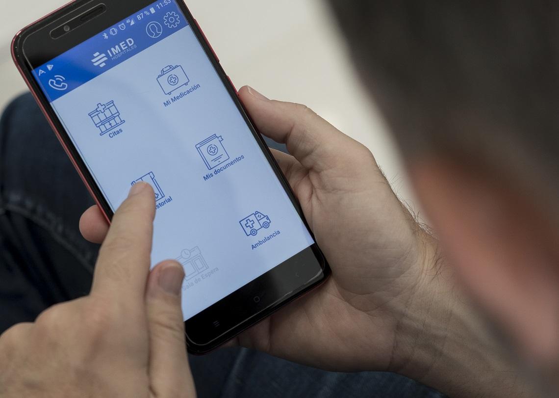 IMED actualiza su App para seguir ofreciendo el mejor servicio al paciente