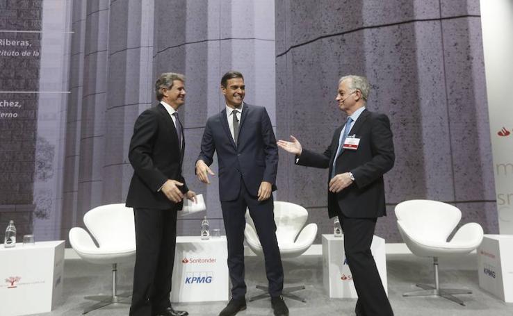 Pedro Sanchez clausura el XXI Congreso Nacional de la Empresa Familiar en Valencia
