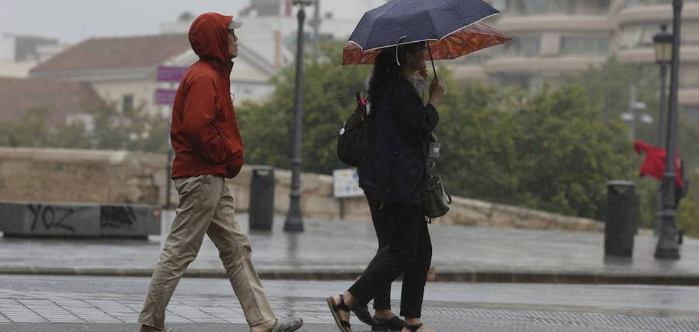 Lluvia y frío al comienzo del puente de Todos los Santos en la Comunitat Valenciana