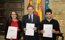 Puig y Oltra logran el beneplácito de Podemos para los presupuestos de la Generalitat de 2019