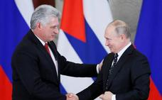 Putin y Díaz-Canel quieren llegar más allá en la ya sólida relación existente entre Moscú y La Habana