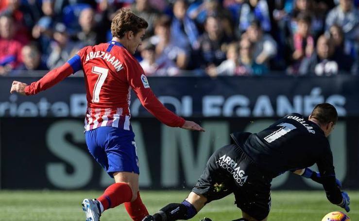 Las mejores imágenes del Leganés-Atlético