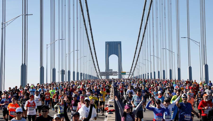 Fotos del Maratón de Nueva York 2018