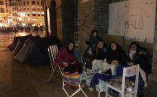 Diez días de cola para ver las primeras a Malú en Valencia