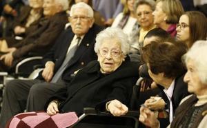 Homenaje a los centenarios de la ciudad de Valencia
