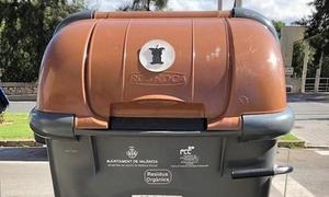 ¿Qué se puede tirar y qué no en el contenedor marrón de materia orgánica?