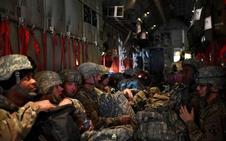 El Pentágono espera completar hoy la primera fase de su misión fronteriza ante la caravana de migrantes