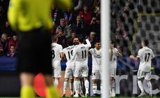 El Viktoria Pilsen-Real Madrid, en imágenes