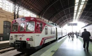 Cancelados 5 trenes de Cercanías de las líneas de Castellón, Gandia y L'Alcúdia
