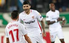 El Sevilla sobrevive a sí mismo